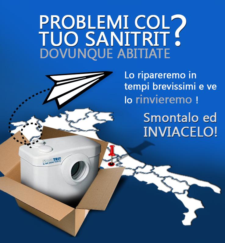 problemi col tuo sanitrit?